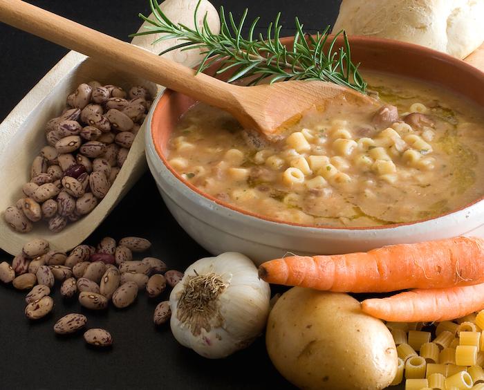 pasta e fagioli: ricetta