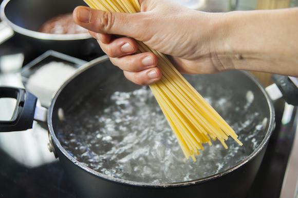 spaghetti per vongole