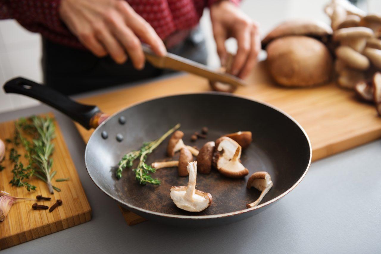 funghi porcini in padella
